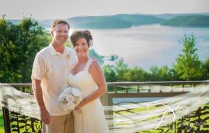 Lake Shore Cabins Wedding