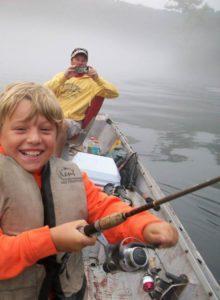 Beaver lake fishing