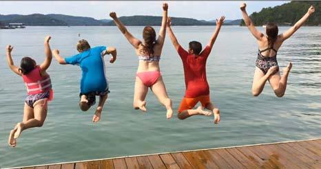 Beaver Lake Jump