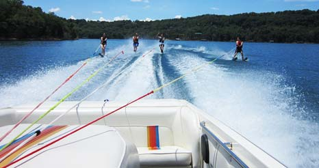 Water Skiing Beaver Lake