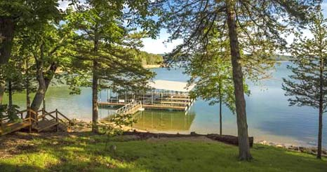 Lake Shore Cabins Dock