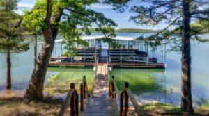 Beaver lake dock