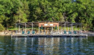 Beaver lake boating