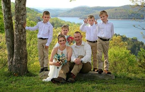 Beaver Lake Wedding