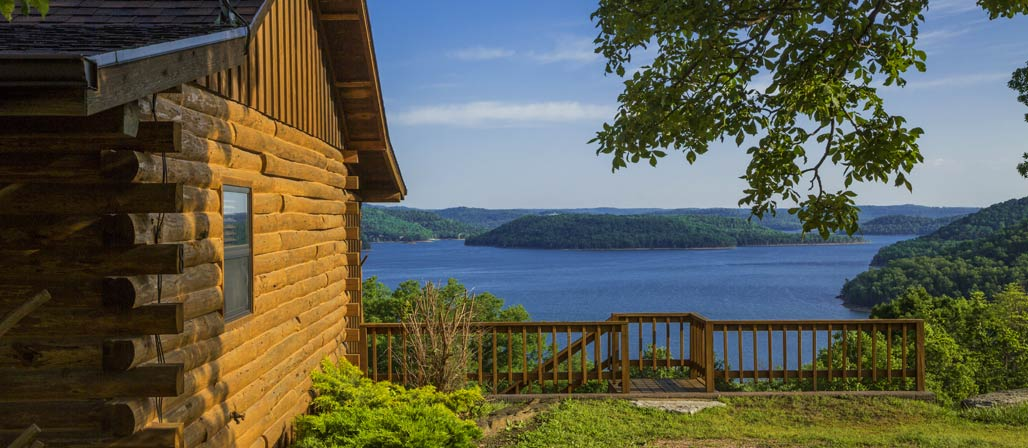 Lakefront Log Cabin Rentals In Eureka Springs Ar Lake