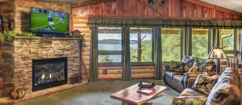 Luxury Log Cabins With Hot Tubs In Eureka Springs Lake